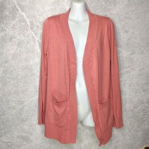 ZENANA OUTFITTERS Open Front Long Sleeve Cardigan